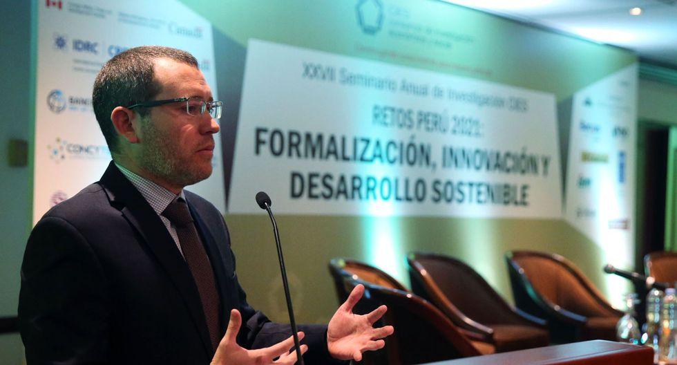 Cesar Liendo es la segunda persona en asumir el viceministerio de Economía del MEF. (Foto: Andina)
