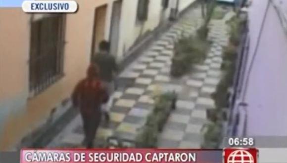 Cámara registró el secuestro de taxista en Magdalena [VIDEO]
