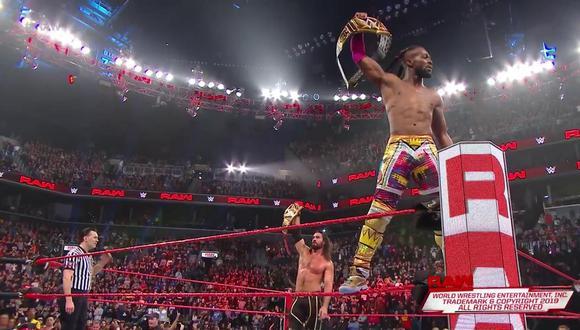 WWE Raw: Resumen del show de la marca roja tras WrestleMania 35 con Rollins y Kingston como protagonistas. | Foto: WWE