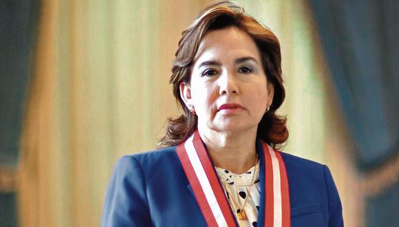 """""""Yo respeto la autonomía de los jueces"""", señala la magistrada suprema. (Foto: GEC)"""