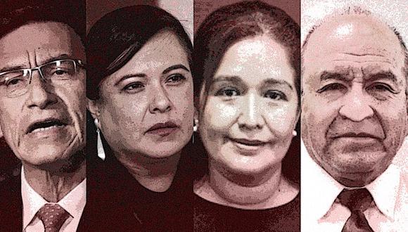 La expareja de Morales y el esposo de Aguirre fueron contratados por Ciro Zavaleta, un ingeniero que trabajó con Vizcarra en Moquegua. (Composición: GEC)