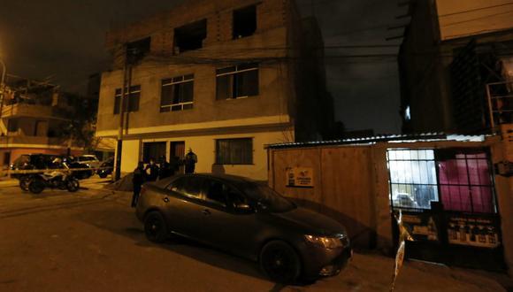 Víctima se dedicaba a trabajar en obras de construcción civil. (Foto: Andrés Paredes/@photo.gec)