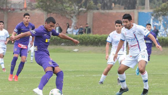 Kluivert Aguilar ha jugado hasta ahora en las Reservas. (Foto: Alianza Lima)