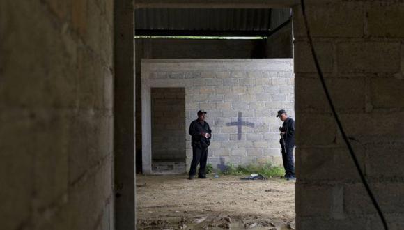 Lugar donde ocurrió la matanza en 2014. En 2016, un juzgado militar absolvió a seis de los siete soldados presuntamente involucrados en el 'caso Tlatlaya'.   Foto: AP
