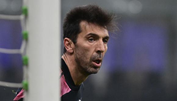Gianluigi Buffon habló de la posibilidad del retiro. (Foto: AFP)