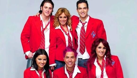 """""""Rebelde"""" fue protagonizada por Anahí, Dulce María, Maite Perroni, Poncho Herrera, Christian Chávez y Christopher Uckerman hace más de 10 años (Foto: Televisa)"""
