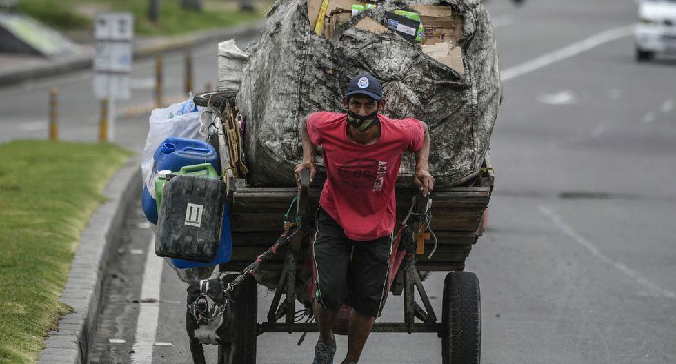 En consecuencia, cientos de miles de familias seguirán sin ingresos y para ellos justamente se habilitó el Ingreso Solidario (Foto: AFP)