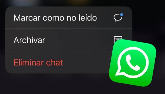 Conoce la razón por la que no debes archivar tus conversaciones de WhatsApp. (Foto: MAG)