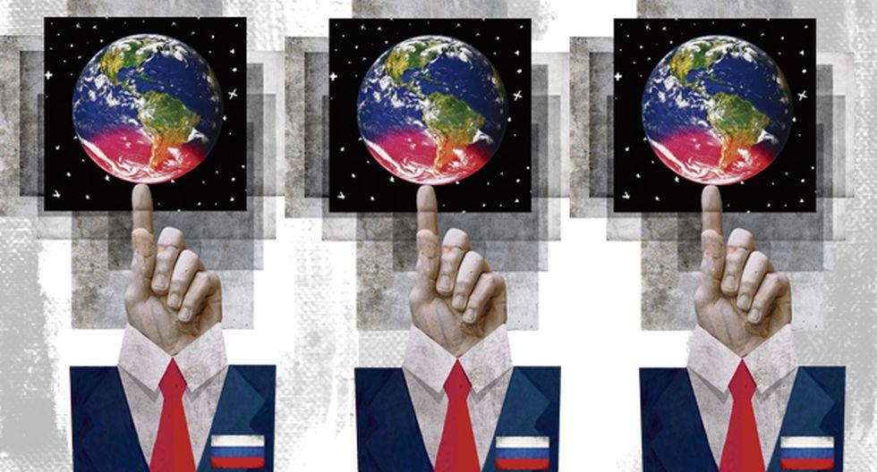 """""""'Hackers' y 'bots' rusos han intervenido en el conflicto separatista de Cataluña y en el 'brexit' del Reino Unido, en las elecciones en Alemania y Francia, así como en Estonia, Georgia y Ucrania"""". (Ilustración: Giovanni Tazza)."""