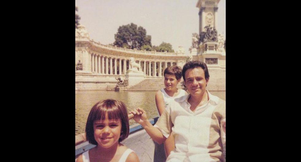 José José con sus hijos. (Foto: Instagram)