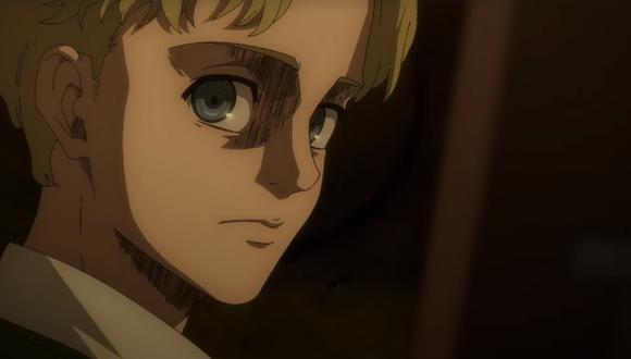 El pasado de Zeke toma por sorpresa a la idea que muchos habían tenido de él y el como traicionó a Grisha. ¿Realmente sus planes son por el bien de los eldianos? (Foto: Crunchyroll)