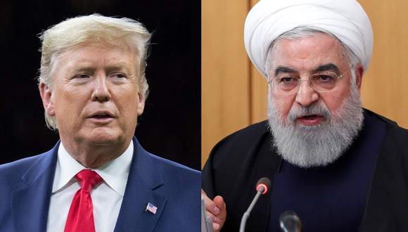 Cuáles fueron los detonantes de la Primera y la Segunda Guerra Mundial (¿habrá Tercera?). En la foto, el presidente de Estados Unidos, Donald Trump y el presidente de Irán, Hassan Rouhani. Fotos: AFP