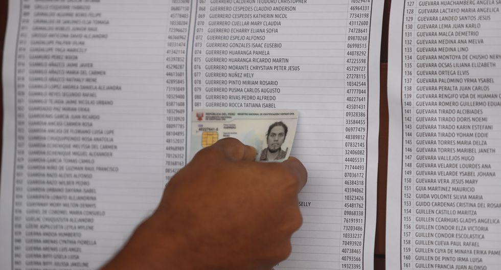 Los electores pueden revisar y pagar su multas vía web. (Foto: GEC)