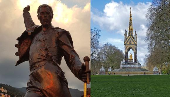 En Suiza y frente al lago Ginebra está ubicada la estatua de Freddie. Al lado el Hyde Park, el lugar donde 'Queen' diera un histórico concierto en 1976. (Foto: Pixabay)