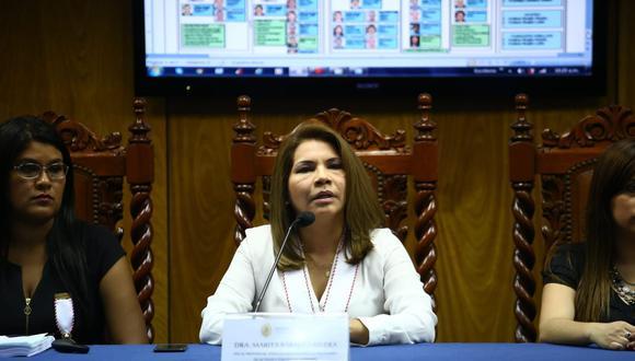 La fiscal de lavado de activos Marita Barreto consideró que el Ministerio Público no está listo para afrontar la defensa legal de una organización criminal. (Foto: GEC)