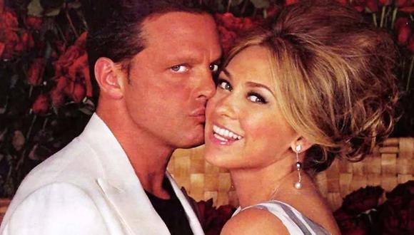 Luis Miguel y Aracely Arámbula cuando eran pareja. (Foto: Redes Sociales)