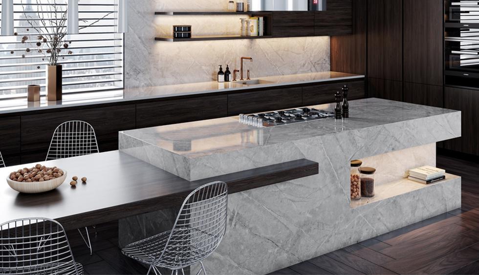 La cocina abierta moderna es funcional, denota estilo y es a la vez minimalista. (Fotos: Difusión)
