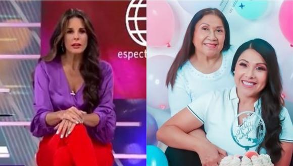 Rebeca Escribens a Tula Rodríguez tras la pérdida de su madre. (Foto: captura de video/@tulaperu)