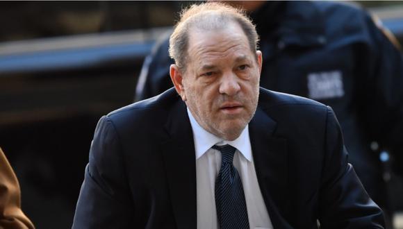 Harvey Weinstein dio positivo al coronavirus. (Foto: AFP)