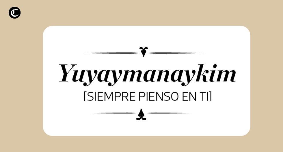 Siempre pienso en ti. (Foto: El Comercio)