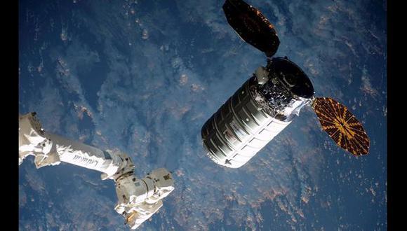 La cápsula Cygnus llegó a la Estación Espacial Internacional
