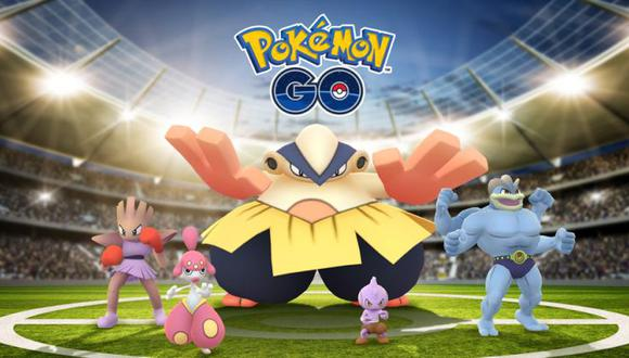 Pokémones de tipo lucha serán protagonistas. (Foto: Pokémon Go)