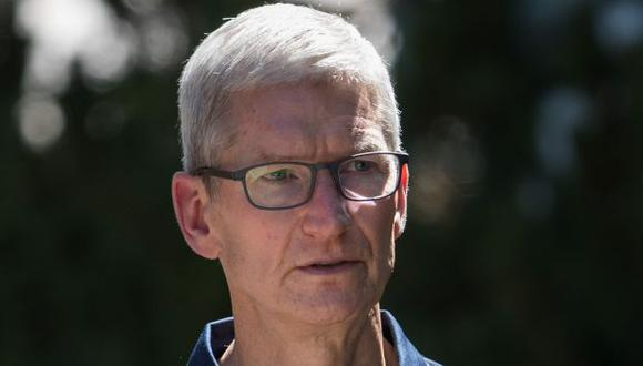 Tim Cook, presidente de Apple. (Foto: AFP)