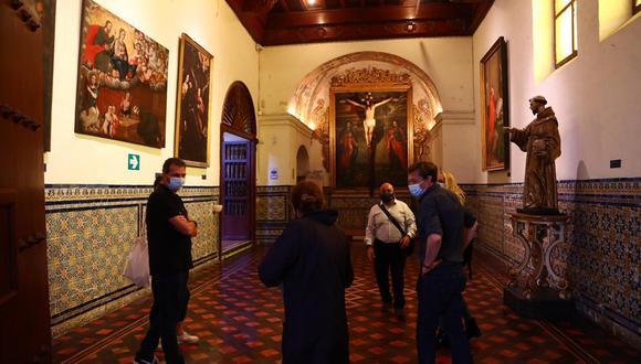 En el país, un total de 18 espacios culturales se podrán visitar desde hoy con todas las medidas de bioseguridad. (Foto: Hugo Curotto/ @photo.gec)