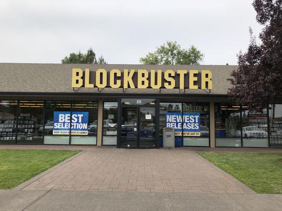 El último Blockbuster, en Bend, Oregon. (Foto: EFE)