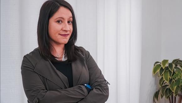 """En conversación exclusiva con El Comercio, Serrano medita acerca de lo aprendido en el campo científico, su participación en el manejo de la crisis por COVID-19 con la configuración de la aplicación """"Perú en tus manos"""", y los retos que le esperan como directora de carrera en UTEC.  (Foto: UTEC)"""