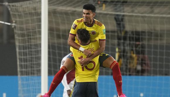Perú vs. Colombia: revive el minuto a minuto del partido por las Eliminatorias Qatar 2022. (Foto: AFP)