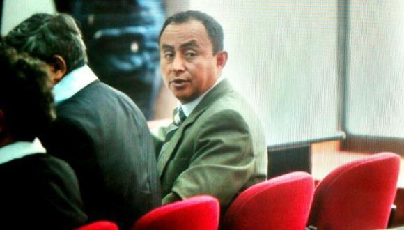 Gregorio Santos fue recluido en el penal de Piedras Gordas