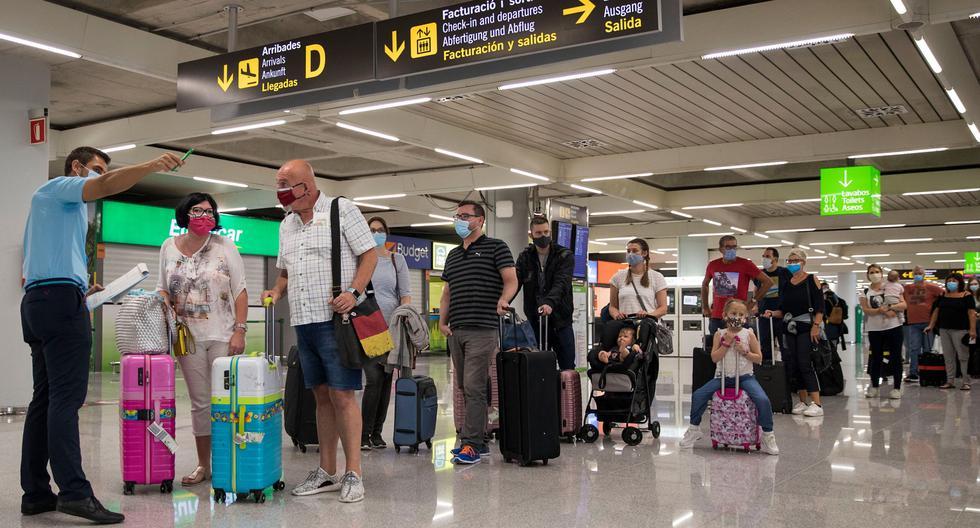 Coronavirus: España permitirá desde este miércoles la circulación libre de los europeos. (Foto: JAIME REINA / AFP).