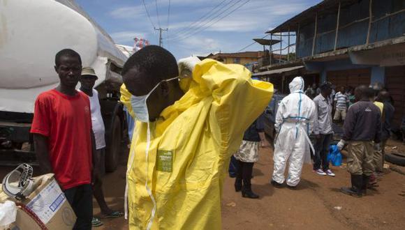 OMS pronostica hasta 10 mil casos de ébola por semana