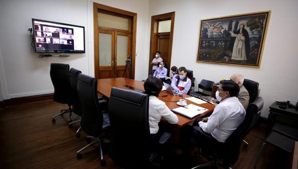 Los gremios propusieron una pronta reanudación gradual de las actividades económicas durante una sesión virtual del Consejo Nacional de Trabajo. (Foto: MTPE)