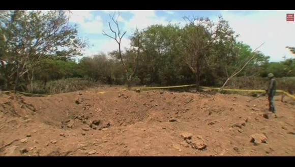 El cráter que dejó un meteorito en Nicaragua [VIDEO]