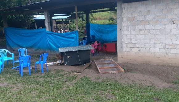 Integrantes del Militarizado Partido Comunista del Perú ingresaron a un bar del centro poblado San Miguel y ultimaron a 18 personas.