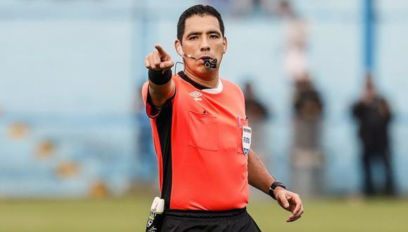 Diego Haro expulsó a cuatro jugadores y a un integrante del comando técnico en el Juan Aurich vs. Alianza Atlético. (Foto: GEC)