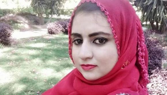 Malala Maiwand sabía que podía ser un blanco por su trabajo como presentadora de televisión. (Foto de la familia)