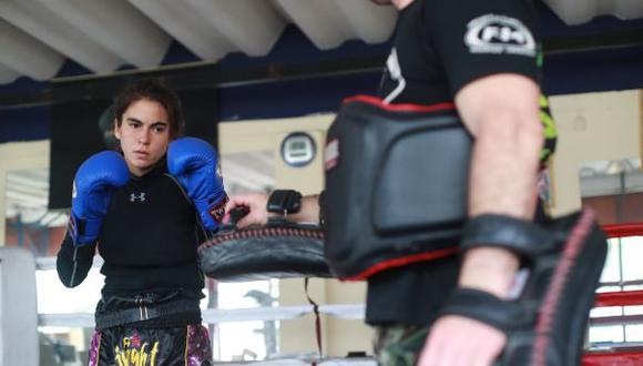 Tristana Tola competirá esta semana en los World Games. Su categoría es 54 kg. (Foto: Lino Chipana/El Comercio)