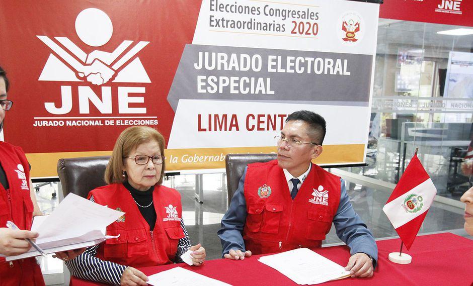 El JEE Lima Centro, que preside Luis Carrascto, volvió a pronunciarse este miércoles sobre el caso de uno de los candidatos excluidos, ratificando que no puede ejecutar la medica cautelar a favor de este. (Foto: JNE)