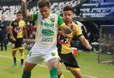Coquimbo Unido empató 0-0 con Defensa y Justicia en el partido de ida por las semifinales de la Copa Sudamericana