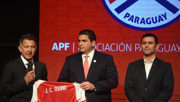 """Juan Carlos Osorio reveló que está en """"una selección con grandes posibilidades"""" de ir a una Copa del Mundo, certamen al cual no acude Paraguay desde el 2010. (Foto: ABC)"""