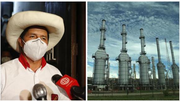 Pedro Castillo plantea relanzar la construcción del gasoducto sur peruano. (Foto: Archivo)