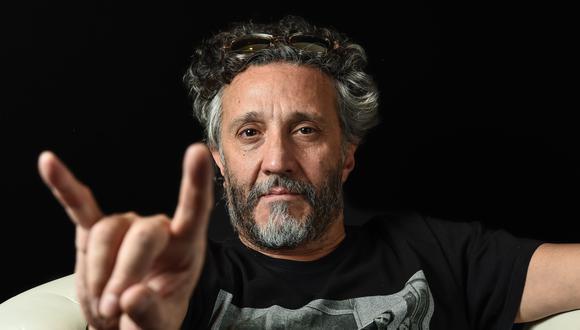A RODAR LA VIDA. Páez es uno de los rockeros latinoamericanos más emblemáticos desde la década de los 80. Entre otros premios, ha ganado cinco Grammy Latinos. Nació en Rosario, Argentina, y tiene 57 años. (Foto: AFP)