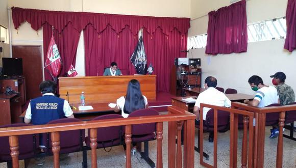 César Martín Ita Gaviño y Jorge Estelita Bernuy fueron sentenciados por violar las normas sanitarias durante el aislamiento social obligatorio. (Foto: Ministerio Público del Santa).