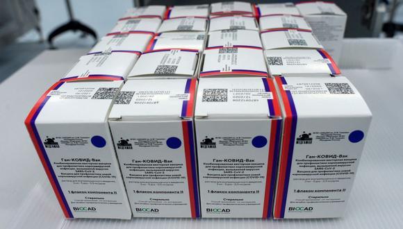 Rusia admite que la demanda de su vacuna Sputnik V contra el coronavirus supera su capacidad de producción. (Foto: Olga MALTSEVA / AFP).