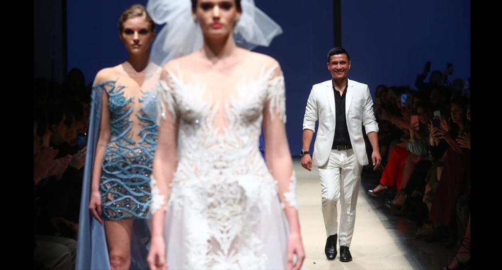 José Zafra es el nuevo talento en esta nueva edición de Lima Fashion Week. El diseñador presentó vestidos elegantes y sofisticados. (Foto: Alessandro Currarino)