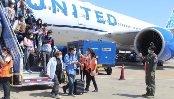 Destinan recursos para recibir a peruanos repatriados. (Foto: Fuerza Aérea del Perú)