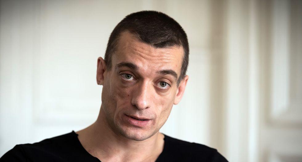 Pyotr Pavlensky, el artista ruso que divulgó el video de contenido sexual de Benjamin Griveaux. (Photo by Lionel BONAVENTURE / AFP).